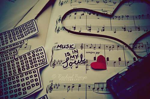 cute, heart, lovely, music