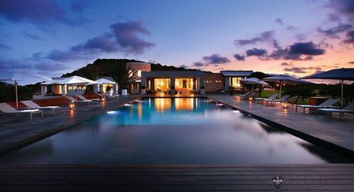 cute, home, house, lights, luxury, night, pool