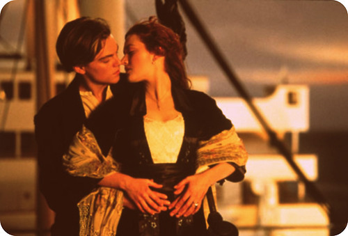 cute, kiss, love, movie, titanic