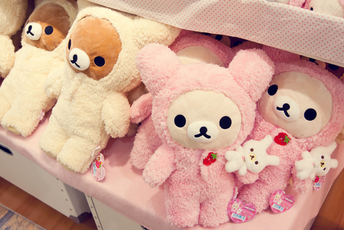 cute, plush, rilakkuma