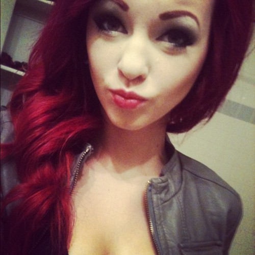 cute, pretty, red hair