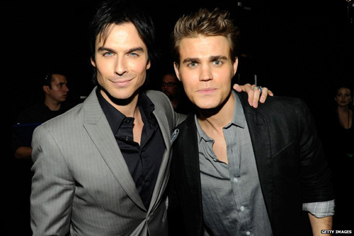 damon salvatore, ian somerhalder, paul wesley, stefan salvatore, the vampire diaries