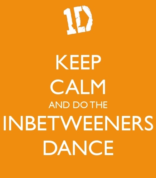 dance, diana galvan, inbetweeners dance, keep calm, one direction