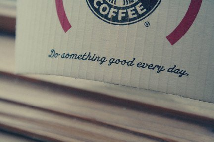 day, every, good, starbucks, text, vintage