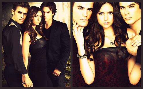 delena, ian somerhalder, nina dobrev, paul wesley, stelena