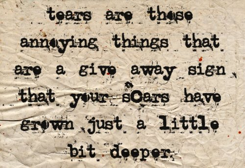 depressed, sad, scars, tear, tears