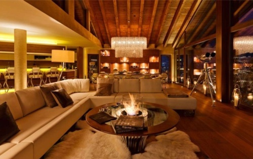 design, fire, house, lights, luxury