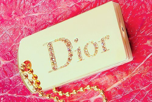 dior, fashion, necklace, pink
