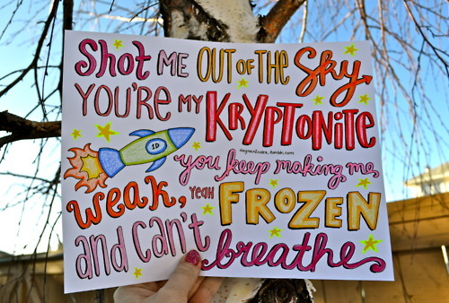 One Direction Song Lyric Drawings One Direction Lyric Drawings