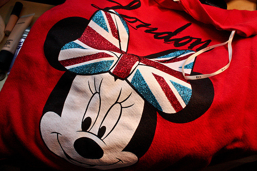 disney, england, london, minie mouse