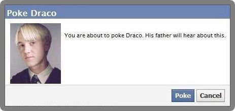 draco malfoy, facebook, funny, haha, harry potter