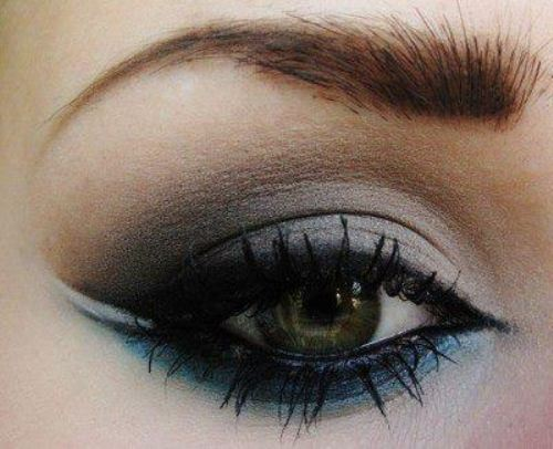 dramatic, eye, makeup