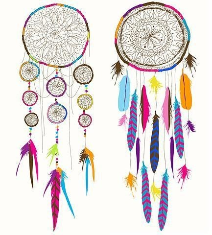 drawing, dream catcher, hippie, peace