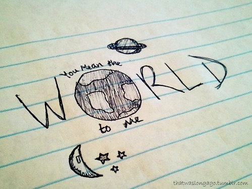 drawing, pretty, quote, universe, world