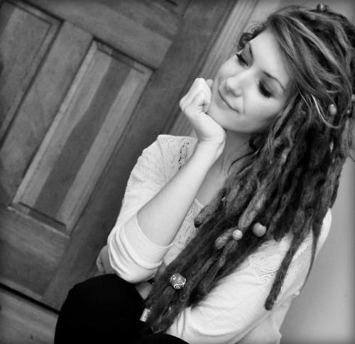 dreads, girl, smile