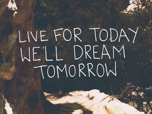 dream, life, live, note, quote