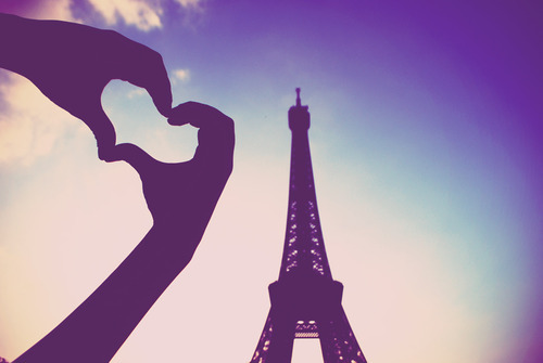 eiffel, eiffel tower, heart, love, paris - image #412029 ...