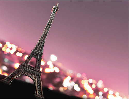 eiffel tower, france, newspaper, paris, pink