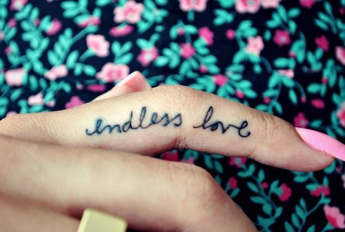 endless love, flower, nail, pink, tatto