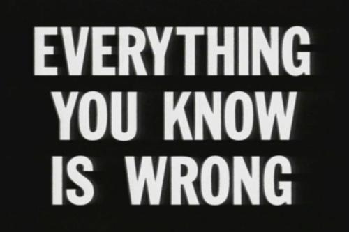 everything, everything is wrong, text, wrong