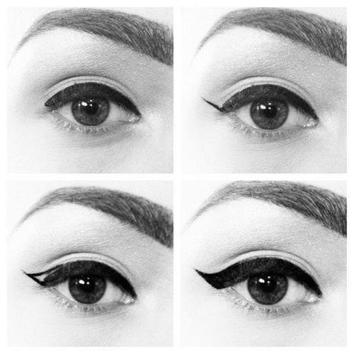 eyeliner, makeup, tutorial