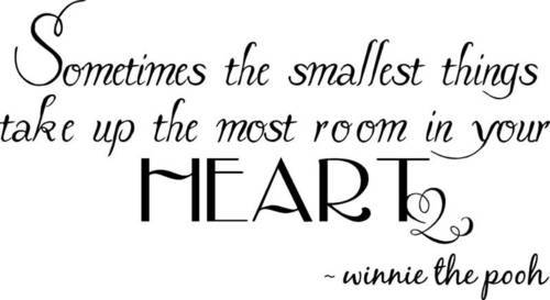 fact, heart, love, pooh, quotes