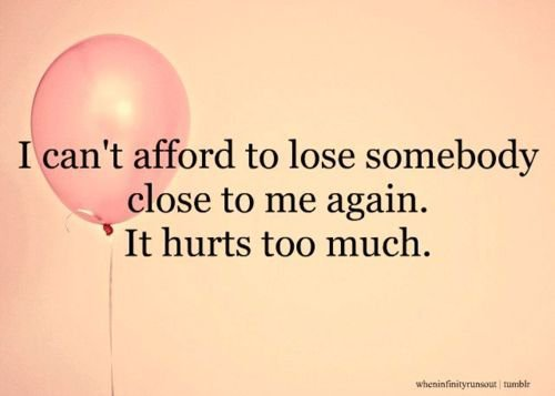 fact, hurt, lose, love, quote