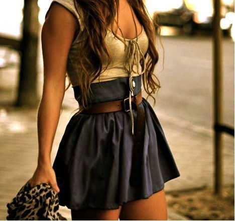fashion, girl, mini, skirt