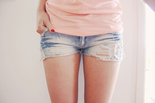 fashion, girl, short