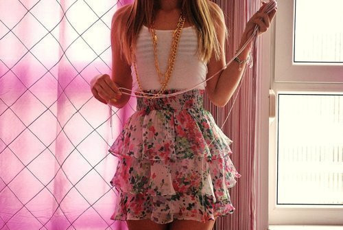 fashion, girl, skirt