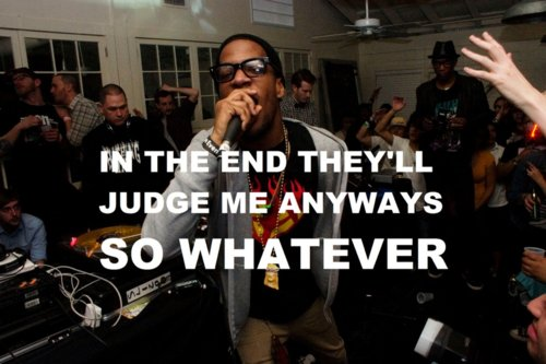 fashion, glasses, house, judge, kid cudi, music, party, quote, rap, whatever