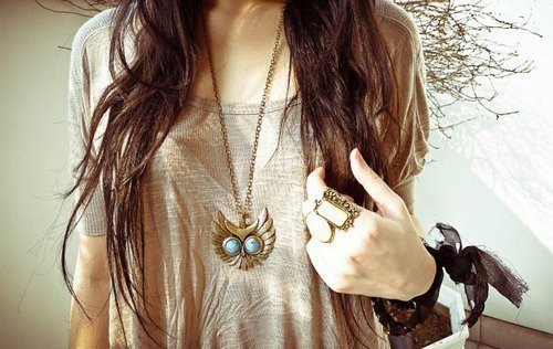 fashion, owl, owl jewelry