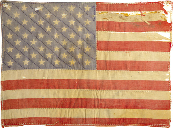 flag, old, usa, vintage