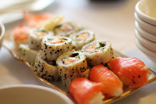 food, japanese, sashimi, sushi