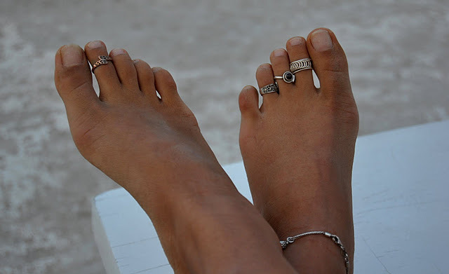 foot, girl, jewels, ring, rings