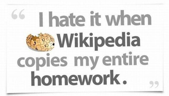funny, hate, homework, kid, kids, life, people, quote, quotes, school, students, truth, wikipedia