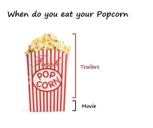 funny, lol, movie, pop corn, purple elephant