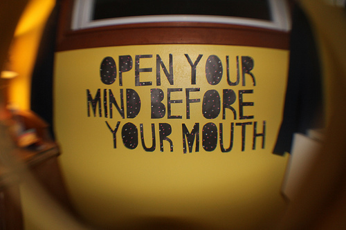 funny, mind, mouth, quote, sign