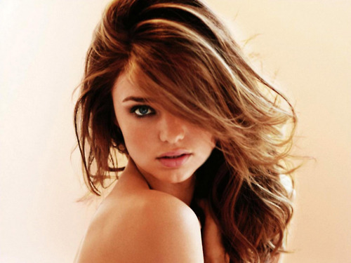 girl, hair, miranda kerr, model