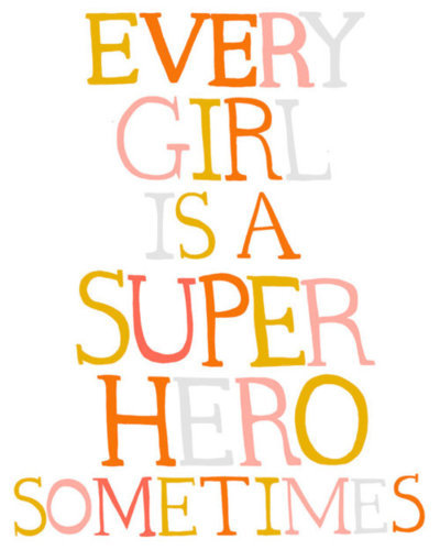 girl, hero, super hero, text