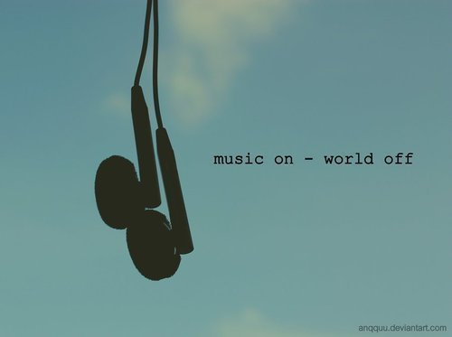 girl, music, off, sky, text
