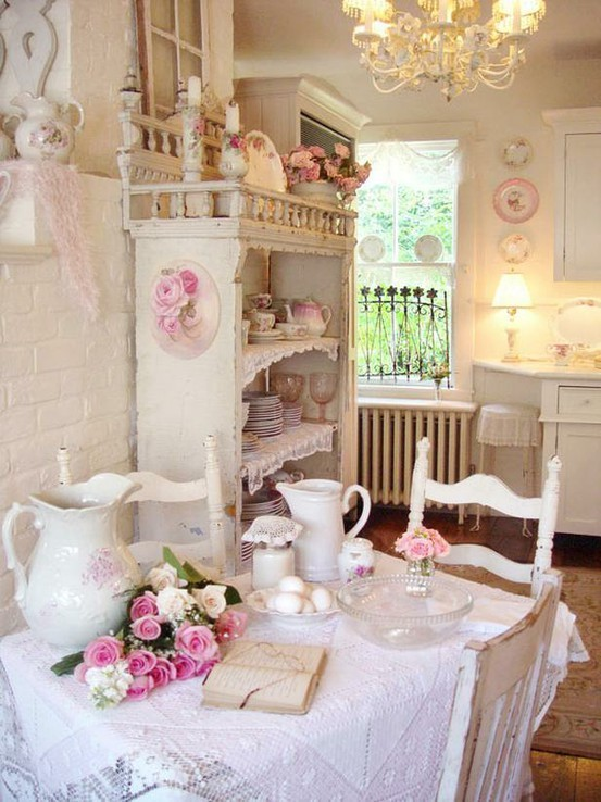 girly, interior design, lace, pastel, pretty - image #425275 on ...