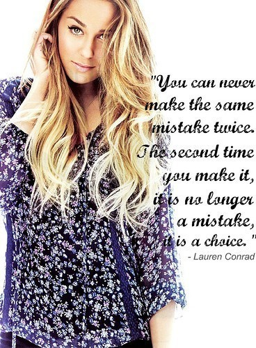 glittery, hair, lauren conrad, ma girl, mistakes, quote, quotes, sparle