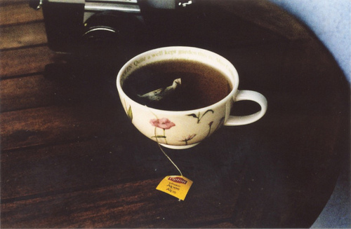 grain, hipster, indie, lipton, photography, tea, teacup, vintage