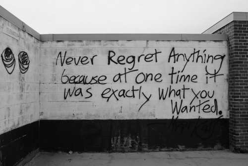 grey, life, regret, text, time, wall, want