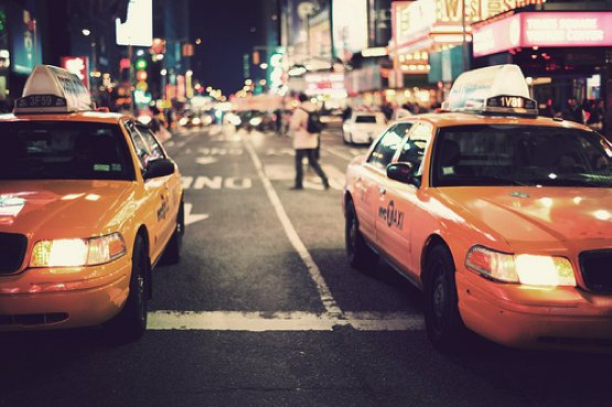 happiness, new york city, outdoors, taxis, yellow