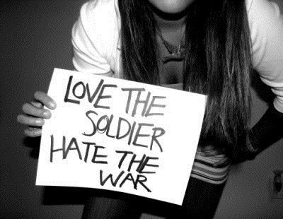 hate, love, soldier, war