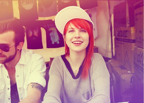 hayley williams, jeremy davis, paramore, red hair