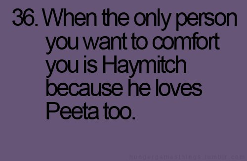 haymitch, love, march, movie, peeta, person, text, the hunger games, wait