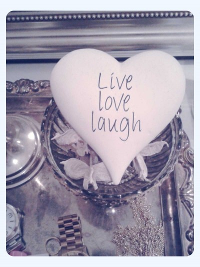 heart, laugh, live, live love laugh, love